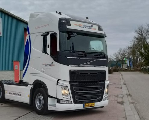 Van't Blik ETT Rental - Volvo FH 500 Globetrotter XL